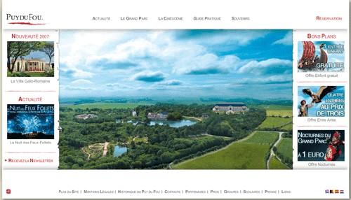 Le Puy du Fou lance la nouvelle version de son site web
