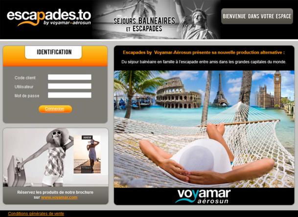 """Le site Escapade.to offre la possibilité aux agents de voyages de monter leurs produits """"à la carte"""" - DR"""
