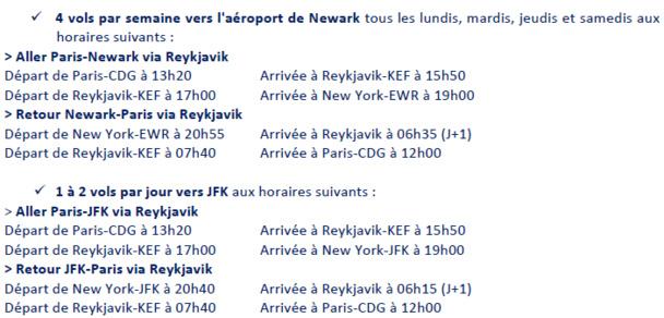 New-York : Icelandair vole vers Newark depuis le 28 octobre 2013