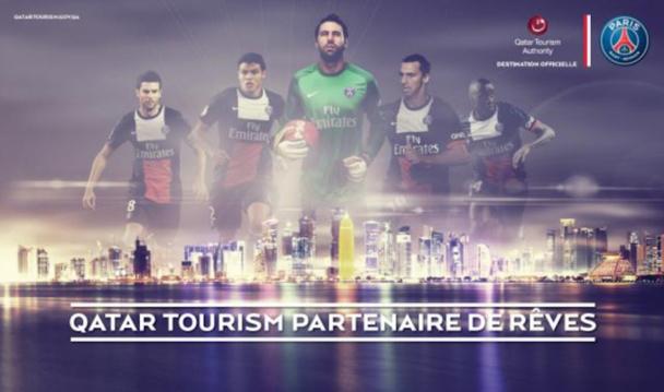 Le Qatar souhaite capitaliser sur le PSG pour se faire un nom sur la scène touristique internationale. DR