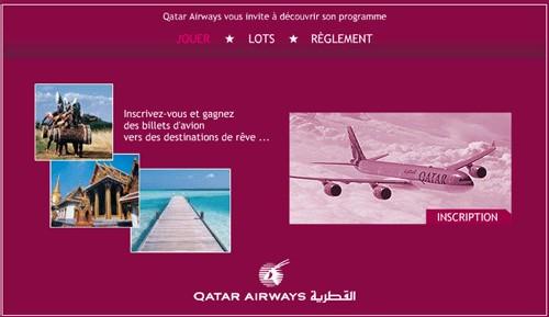 Grand jeu-concours Qatar Airways !