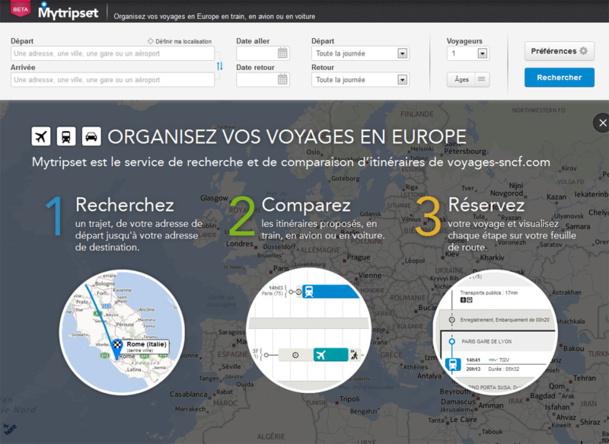 MyTripSet : Voyages-Sncf.com signe un partenariat avec HERE