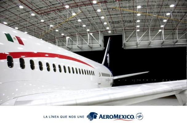 Le nouveau Dreamliner d'Aeromexico offrira 30% de capacité supplémentaire sur la ligne Paris-Mexico.DR