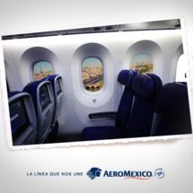 Aeromexico : 30% de capacité additionnelle grâce au nouveau Dreamliner