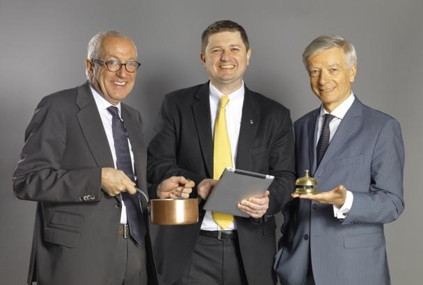 Jean-François Mesplède, Rémi Ohayon et Michel Bouquier.