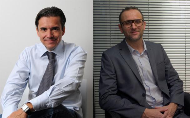 Didier Sylvestre et Cédric Clapet - DR