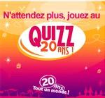 Vacances Transat : 2ème phase du Quizz 20 ans !