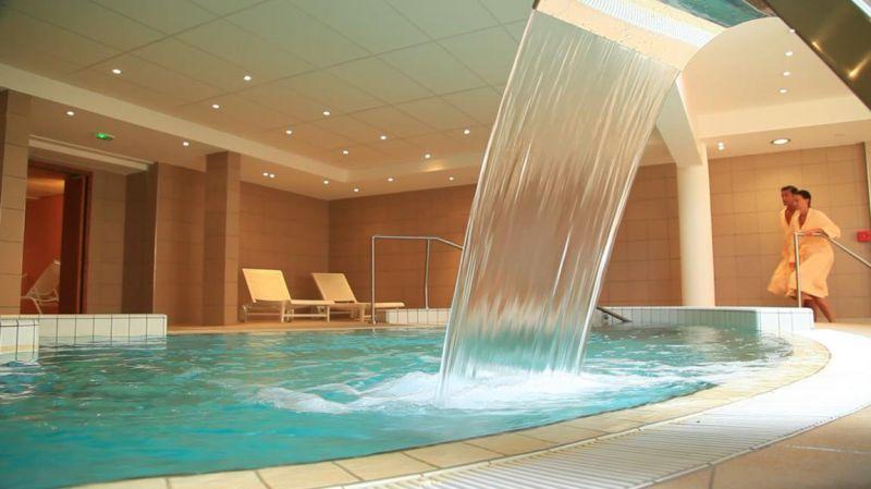 Ouvert l'an dernier, le spa O des Lauzes se distingue des autres spas hôteliers de Valmorel par son alimentation en eau thermale. ©DR/valmorel