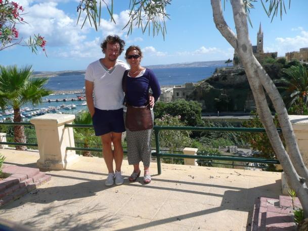 Hervé Guichard et Fabienne d'Adaptours - DR