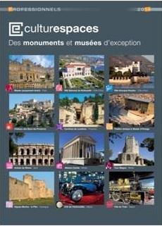 """Le catalogue """"Professionnels"""" 2014 de Culturespaces est consultable gratuitement en ligne - DR"""