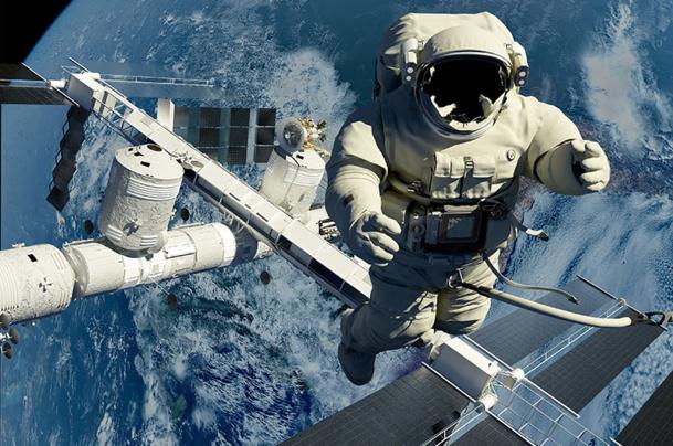 Gravity, le film américano-britannique écrit, produit, réalisé et monté par Alfonso Cuarón aura été un magnifique outil de promotion pour la conquête de l'espace et le tourisme spatial - © Kovalenko Inna - Fotolia.com