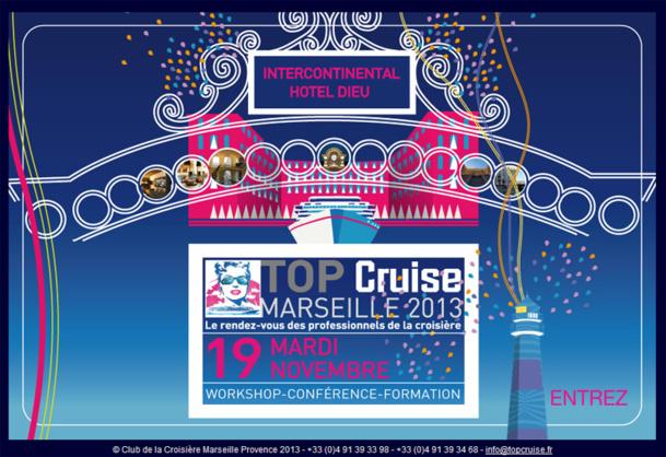 Croisière Marseille : Top Cruise ouvre ses portes ce mardi !