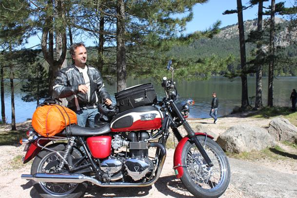 Anthony Laplagne a fondé l'agence Europe Active, spécialisée dans les voyages rando, vélo et moto, en 2006 - DR : J.B.
