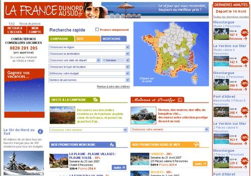 LaFranceduNordauSud.fr lance une nouvelle carte interactive de recherche
