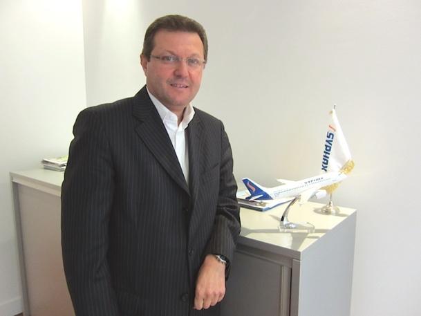 Ferid Fetni, le directeur France de la compagnie Tunisienne Syphax - DR : LAC