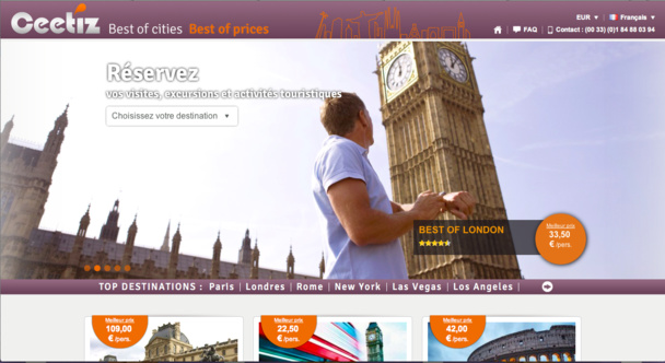 Plus de 100 000 clients internationaux ont déjà utilisé les services de Ceetiz depuis son lancement.