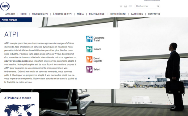 L'agence de voyages d'affaires ATPI recrute pour soutenir sa croissance.