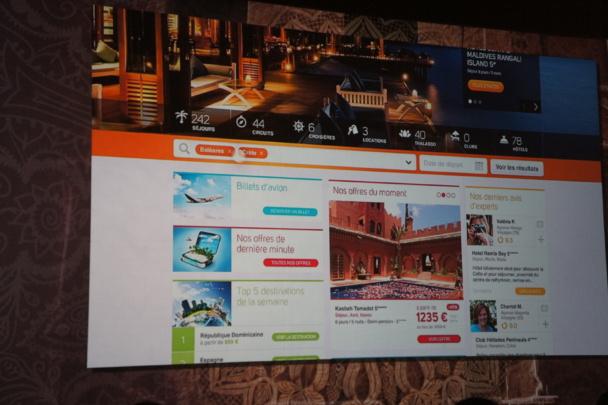 Le nouveau site BtoC Selectour-Afat.com vient d'être présenté aux agences du réseau -Photo CE
