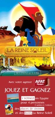 Afat Voyages s'associe au film la ''La Reine Soleil''