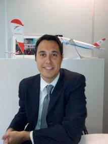 Benjamin Lanier, le directeur France d'Austrian Airlines. DR