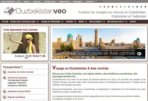 OuzbekistanVeo présente la production de PlanetVeo en Asie centrale - Capture d'écran