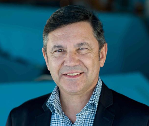 """Pierre Marcy : """"Nous nous projetons dans l'avenir et notamment 2014. Les clients et les professionnels peuvent avoir confiance et tout à fait recommander la SNCM. Nous sommes encore présents"""" - DR"""