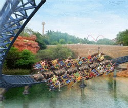 Port Aventura : nouvelle attraction Furius Baco