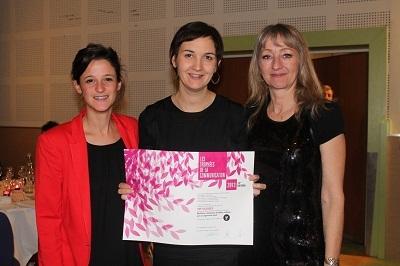 Le Trophée de la Communication a été remis à VVF Village le 29 novembre 2013 - Photo DR