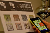 Les technologies NFC simplifient le parcours client.