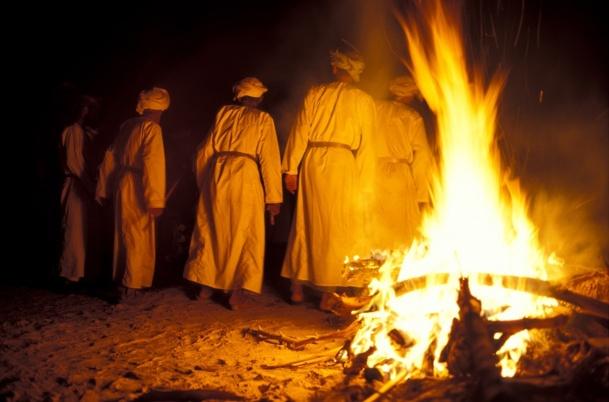 Le réveillon dans le désert sera marqué par un spectacle bédouin - Photo DR