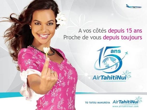 Air Tahiti Nui vient de fêter ses 15 ans et prévoit d'excellents résultats pour 2013. DR