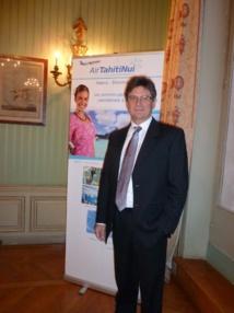 Michel Monvoisin, le nouveau PDG d'Air Tahiti Nui, également directeur du GIE tourisme. DR
