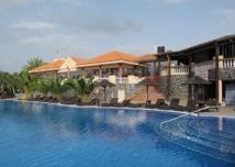 Vue sur la piscine du Top Club Callao Sport - DR : A.B.
