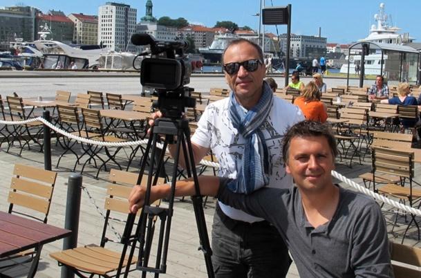 """""""Pays & Marchés du Monde"""" en tournage à Bergen (Norvège)"""