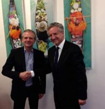 Didier Munin et Jean-Emmanuel Sauvée - DR