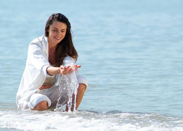 L'action thermique a son importance : l'eau de mer utilisée à des températures diverses ne produit pas les mêmes effets - DR Delmas - Alliance Pornic