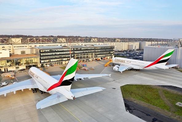 A l'heure actuelle, un A380 sur 3 en service appartient à la flotte d'Emirates - Photo DR