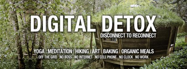 La digital detox est un concept né aux Etats-Unis.