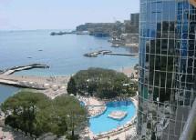 Monaco : le Méridien Beach Plaza dans ses tour de verre