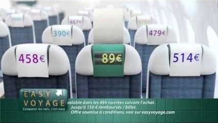 Easyvoyage vient de lancer « la garantie du meilleur prix » pour dédommager des clients qui trouveraient ailleurs le même vol mais à un meilleur prix.