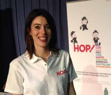 Coralie Beaupied-Maubé devient Commerciale Loisirs et Charter Senior chez Hop! - Photo DR