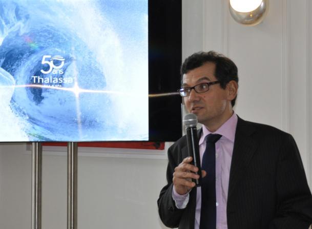 Vincent Moskovtchenko, directeur Marketing et Distribution Thalassa sea & spa