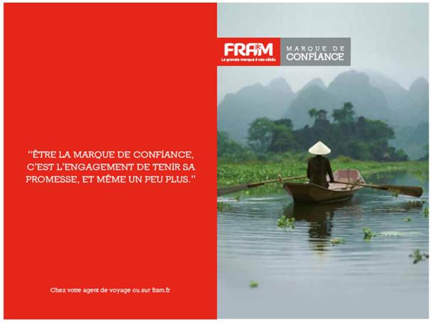 Fram : nouvelle campagne d'affichage nationale