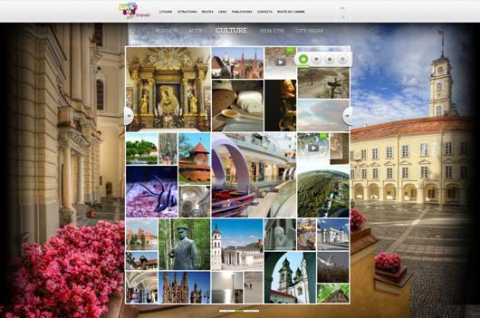 Avec la version français de son site Internet, l'OT de Lituanie vise à attirer les touristes français - Capture d'écran