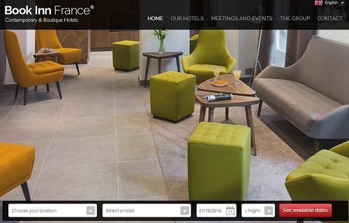 BookinnFrance.com se refait une beauté - Capture d'écran