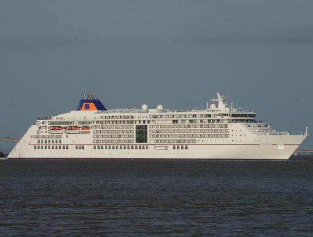 L'Europa 2 est le dernier navire livré par les chantiers STX et qui a reçu le prix du navire le plus luxueux de l'année 2013 par le guide Berlitz. - DR