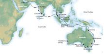 MSC Croisières : 34 jours de croisière entre la Péninsule Arabique et l'Océanie