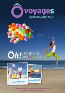 La couverture de la nouvelle brochure Ô Voyages - DR