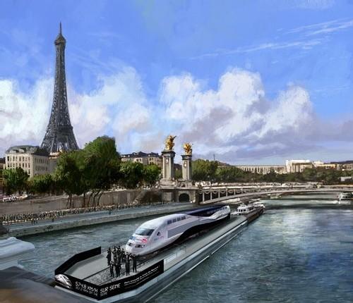 SNCF : le train du record entre en Seine