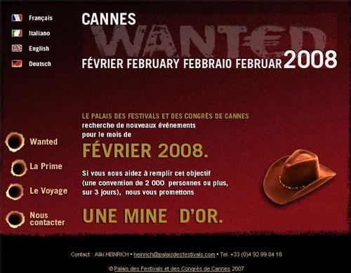 Cannes propose une prime pour attirer les congrès